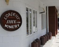 山梨県勝沼のワイナリー ロリアンワインの『白百合醸造』