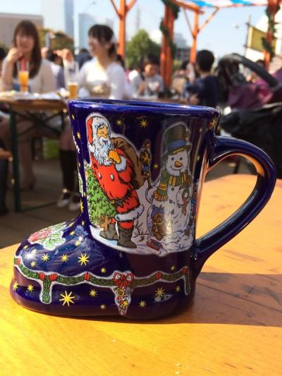 横浜オクトーバーフェスト2014 グリューワイン