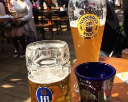 横浜オクトーバーフェスト2014 ビールとグリューワイン