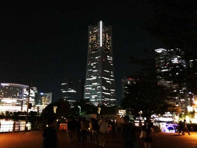 横浜オクトーバーフェスト2014 夜のみなとみらい