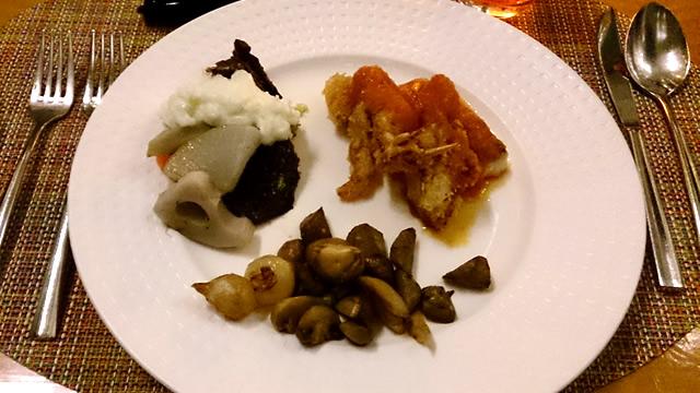 ヴェンタリオ 料理