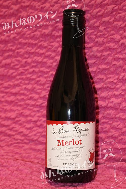 ダイソー100円ワイン ルボンレパメルロー赤