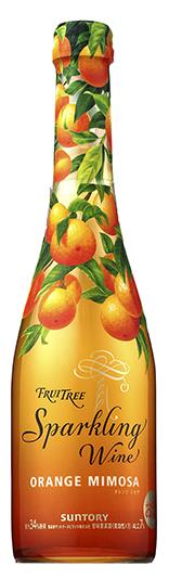 FRUITREE(フルーツリー)スパークリングワイン・オレンジミモザ