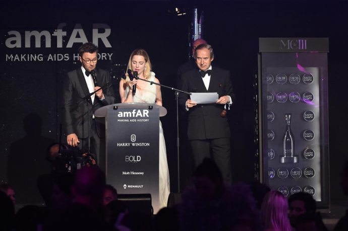「Cinema Against AIDS」にてモエ・エ・シャンドン「MCIII」を納めたワインセラーが100,000ユーロで落札!