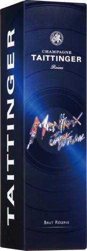テタンジェ・ブリュット・レゼルブ・モントルー・ジャズフェスティバル50周年記念スリーヴァーボトル