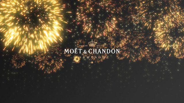 MOET CHRISTMAS HANABI