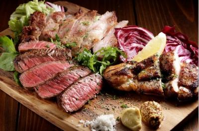 Le Bar a Vin 52 特製 お肉料理3種グリル 盛り合わせ[ 3~4名様分 ]