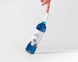 インディゴブルーの「青ワイン」Gik、ついに日本上陸!