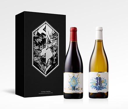 【セット商品】FINAL FANTASY 30th ANNIVERSARY WINE (赤イフリート・ルージュ&白シヴァ・ブラン 2本セット)