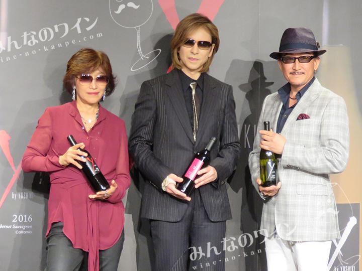 YOSHIKIがカリフォルニア・ワインの第一人者と造り上げた ワインブランド「Y by Yoshiki」 新作ワイン2種発売