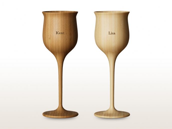 和の美と、まろやかさを添える竹製ワインべッセル『RIVERET(リヴェレット)』