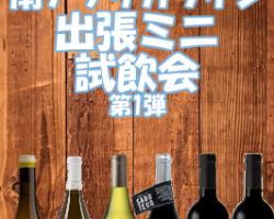 南アフリカ厳選ワインを自宅で気軽に飲み比べ!個人向け出張ミニ試飲会サービス
