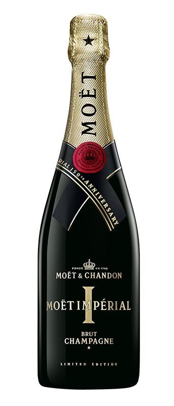 モエ・エ・シャンドン モエ アンペリアル150年アニバーサリー記念ボトル発売