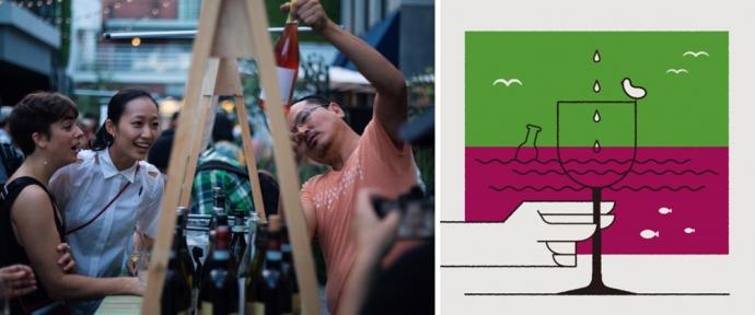 MARINE & WALK YOKOHAMAで約100種類のワインが楽しめる『ワインと海』
