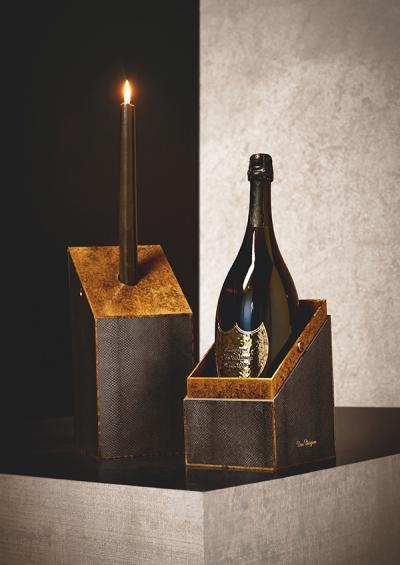【10/1~】ドン ペリニヨン×レニー・クラヴィッツのコラボレーションボトル発売!光と火をコンセプトにデザイン