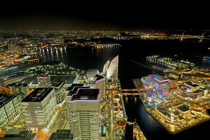 ロマンチックなドームから横浜の夜景を満喫…『CHANDON Sky Garden』
