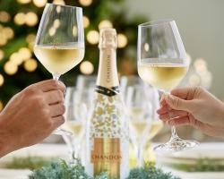 ホリデーシーズンを華やかに彩る限定ラッピングボトル『シャンドンブリュットスパークル』発売
