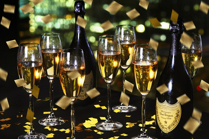 【東京】令和初の年越しカウントダウンはドン ペリニヨン、ヴーヴ・クリコで乾杯!