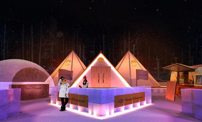 ヴーヴ・クリコが贈る2020ウィンターシーズン『Veuve Clicquot In the Snow』ニセコにて期間限定開催