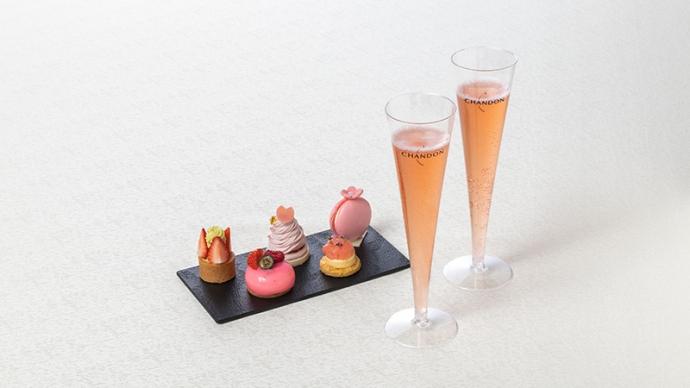 【3/20~】スタイリッシュなお花見を満喫!春を彩る『CHANDON Blossom Lounge』