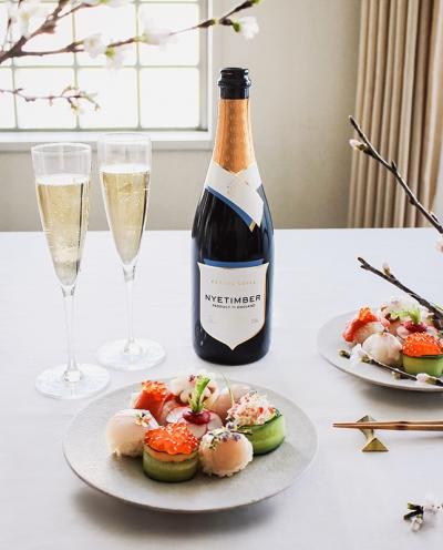 『ナイティンバー』で輝く春を満喫!和食と合わせて楽しみたい英国産スパークリングワイン