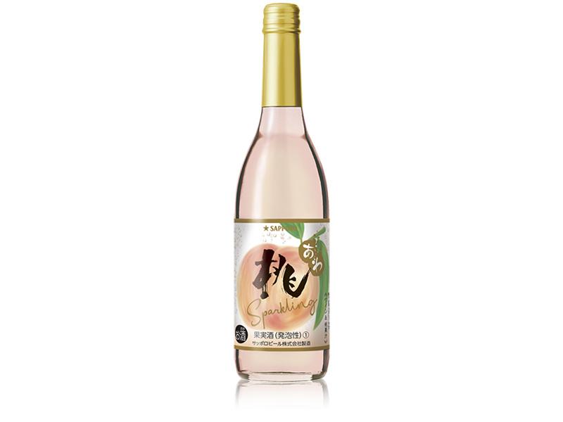 【5/26】しゅわっと爽やか!「桃のワインスパークリング」新発売