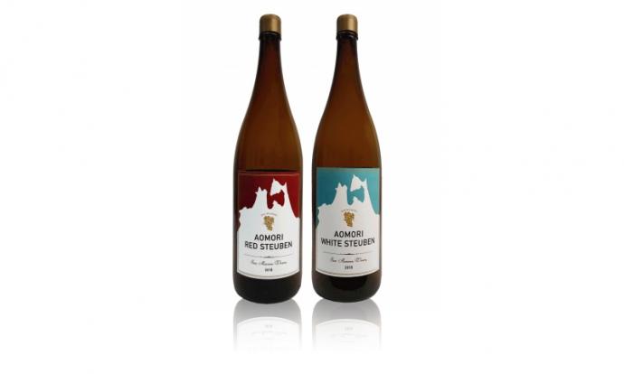 コンクール受賞のワイナリーから≪青森県産スチューベンを使った日本ワイン 一升瓶サイズ≫プレゼント!