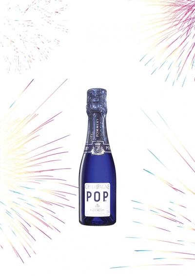 そのまま飲める1/4サイズのシャンパーニュ『ポップ ポッピングエディション』数量限定発売