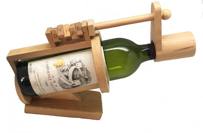 飲みすぎ防止!?解かないと飲めない「ワインボトルパズル・ロック」ヴィレヴァン通販に登場