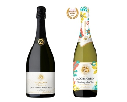 「ジェイコブス・クリーク」からパーティシーンを彩るスパークリングワイン2アイテムが登場