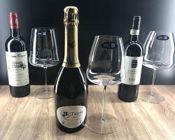 ワインの味はグラスで変わる!『グラスとワインのベストマッチ体験 3回セット』発売