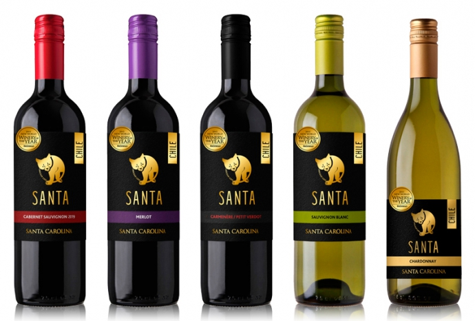 『サンタ バイ サンタ カロリーナ』5種がリニューアル新発売