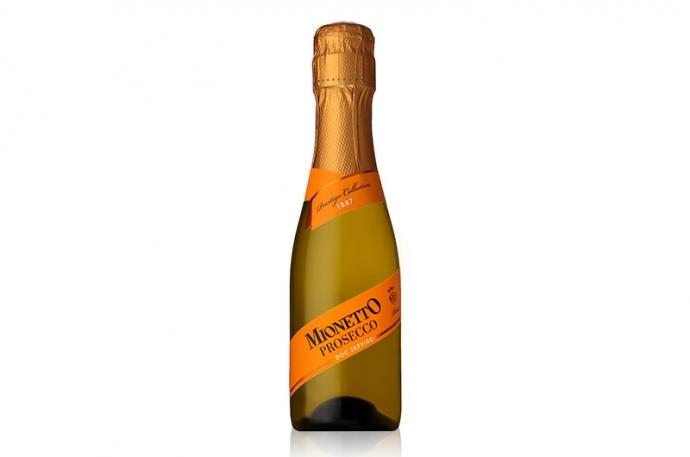 『ミオネット プロセッコ DOC トレヴィーゾ ブリュット ベビー』飲みきりサイズのスパークリングワイン新発売