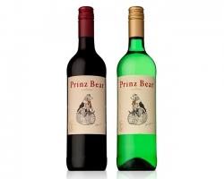 熊の王子様のイラストが可愛いドイツワイン『プリンツ ベア』新発売