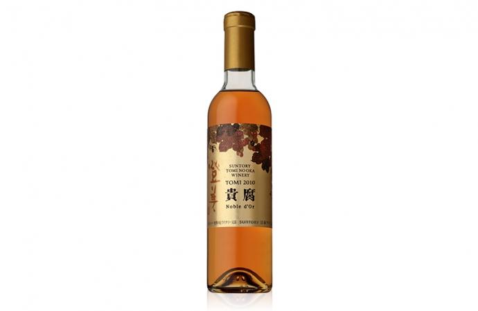 日本の貴腐ワイン『登美ノーブルドール 2010』新発売