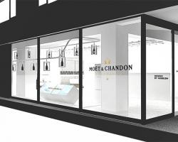 『MOËT & CHANDON x AMBUSH コンセプトショップ』渋谷にて期間限定オープン