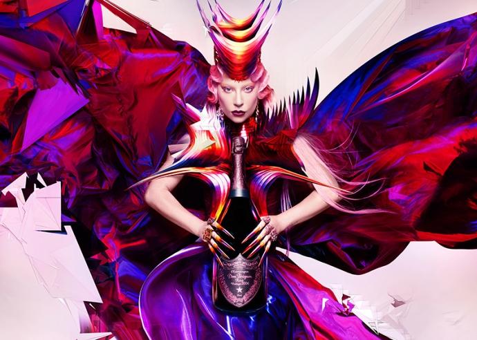 ドン ペリニヨン × レディー・ガガ唯一無二のコラボレーション