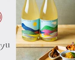 岩崎醸造×wa-syuのコラボワイン第二弾『IWAI KAMOSHI-SPARKLING No.2』数量限定発売