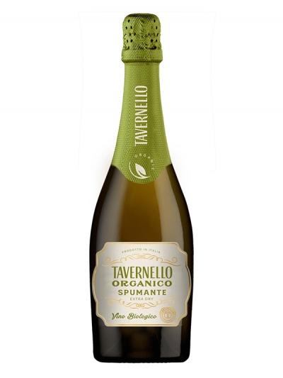 オーガニック・スパークリングワイン『タヴェルネッロ オルガニコ スプマンテ』期間限定新発売