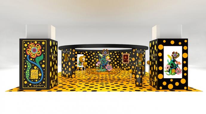 ヴーヴ・クリコ×草間彌生『Veuve Clicquot La Grande Dame 2012 Yayoi Kusama Gift Box』再発売決定