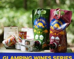 アウトドア向けパウチ型ワイン『グランピングワインズ』新発売